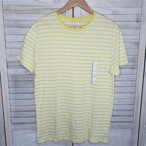 ☀️5 for $25 NWT Yellow Striped Shirt Medium